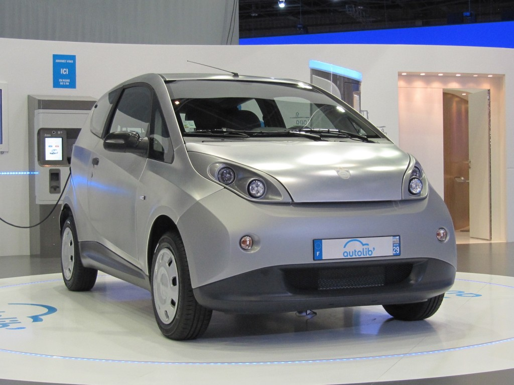 Image bollor bluecar electric car used for autolib 39 car for Electric motor repair indianapolis