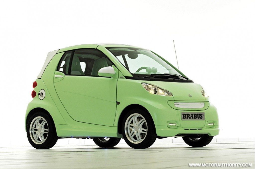 brabus electric smart car features electronic exhaust noise simulator. Black Bedroom Furniture Sets. Home Design Ideas