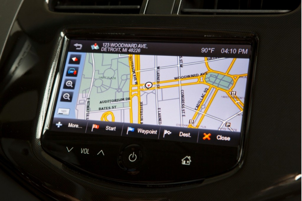Gps Systems For Automobiles : Chevrolet spark is a smartphone app the future of