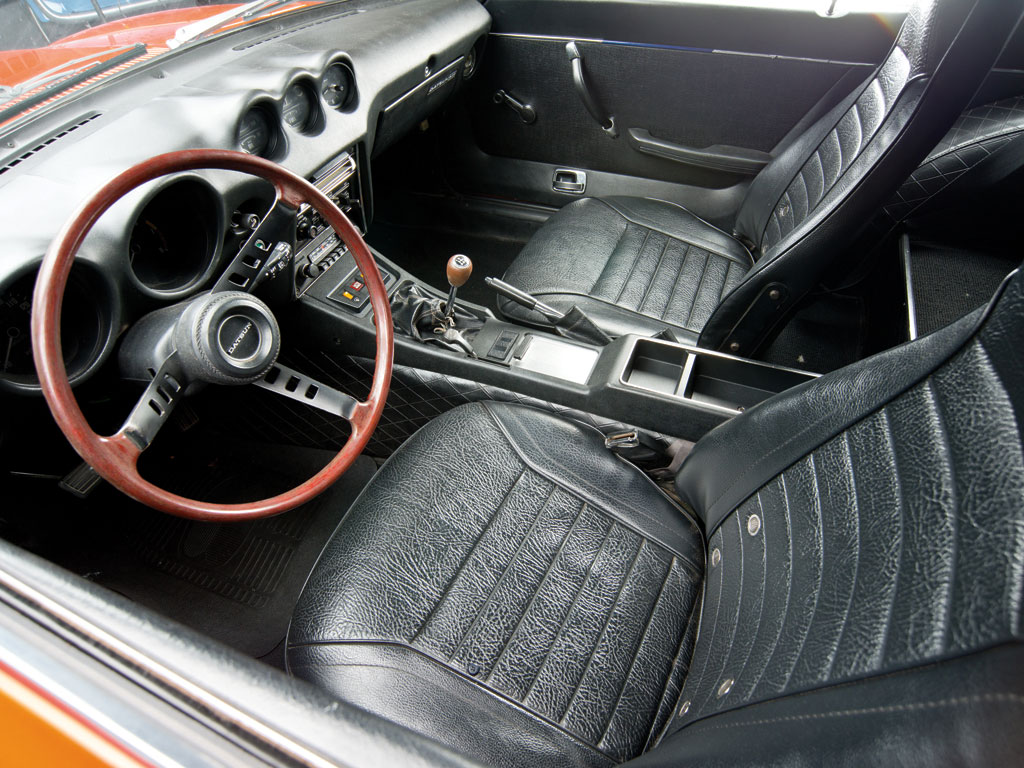 time capsule 1973 datsun 240z hits the block. Black Bedroom Furniture Sets. Home Design Ideas