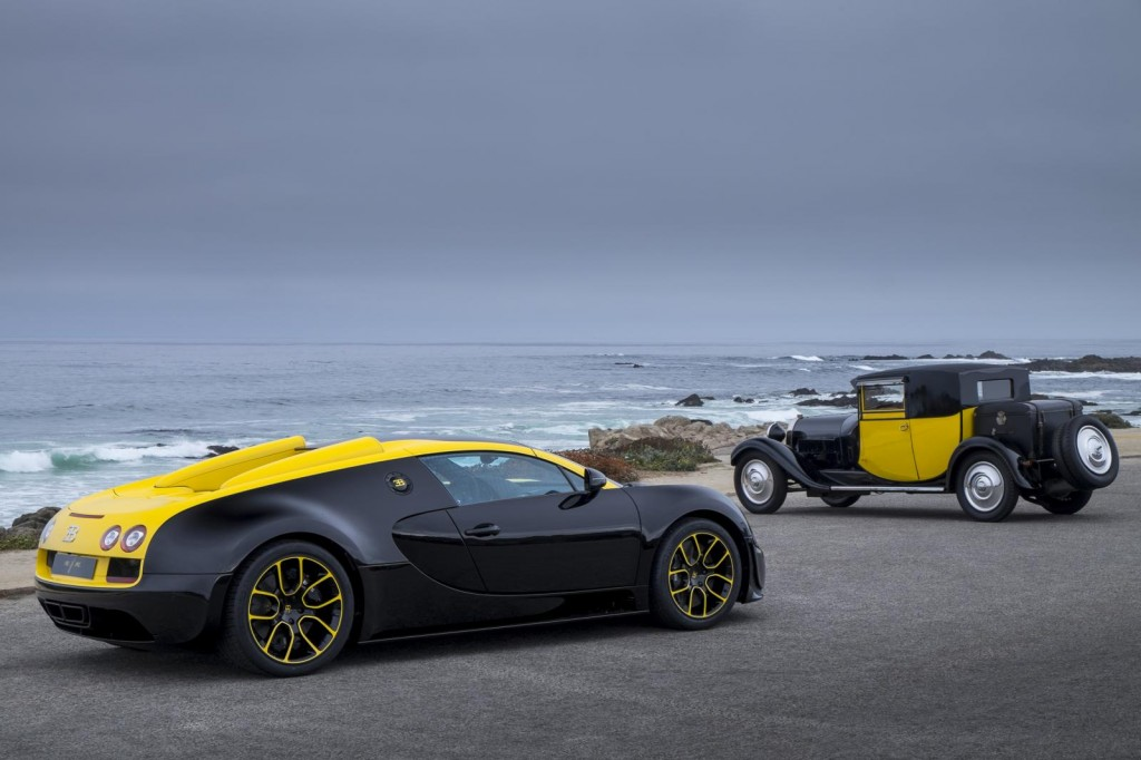 one off bugatti veyron makes surprise showing at pebble beach. Black Bedroom Furniture Sets. Home Design Ideas