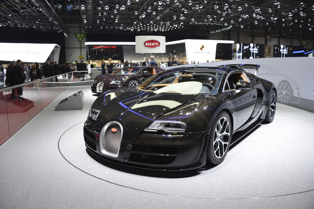 trio of special bugatti veyron roadsters debut in geneva. Black Bedroom Furniture Sets. Home Design Ideas
