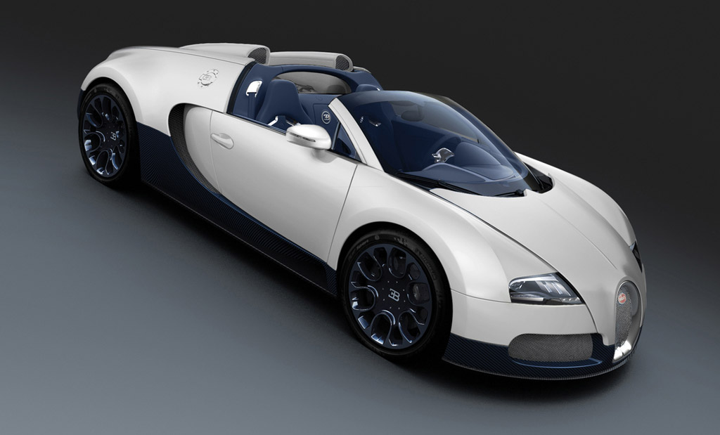 Bugatti Veyron Super Sport Black Carbon And Grand Sport Matte White ...