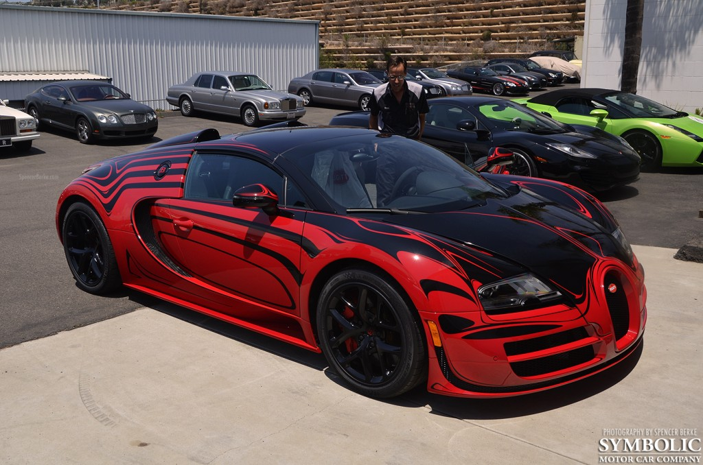 How A Bugatti Veyron L Or Style Vitesse Gets Delivered To