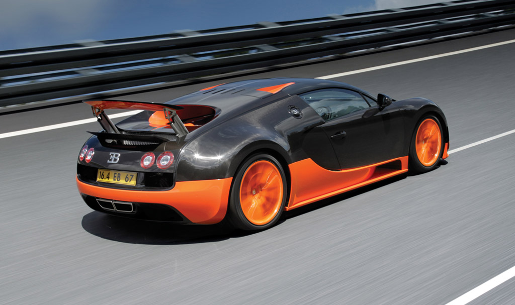 Bugatti Veyron Super Sport Sets 267.8-MPH Top Speed Record