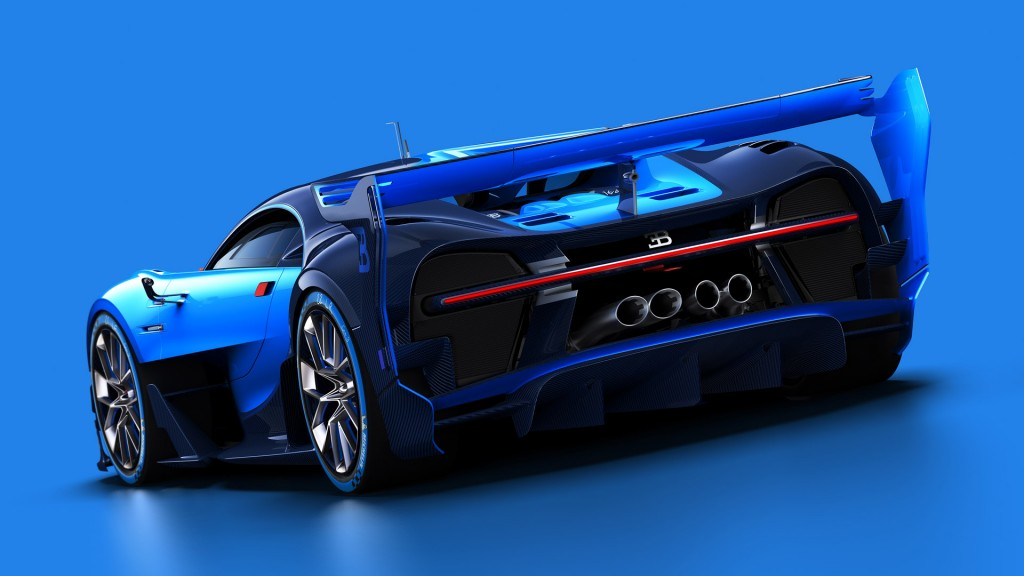 bugatti previews veyron successor with vision gt concept live photos video. Black Bedroom Furniture Sets. Home Design Ideas