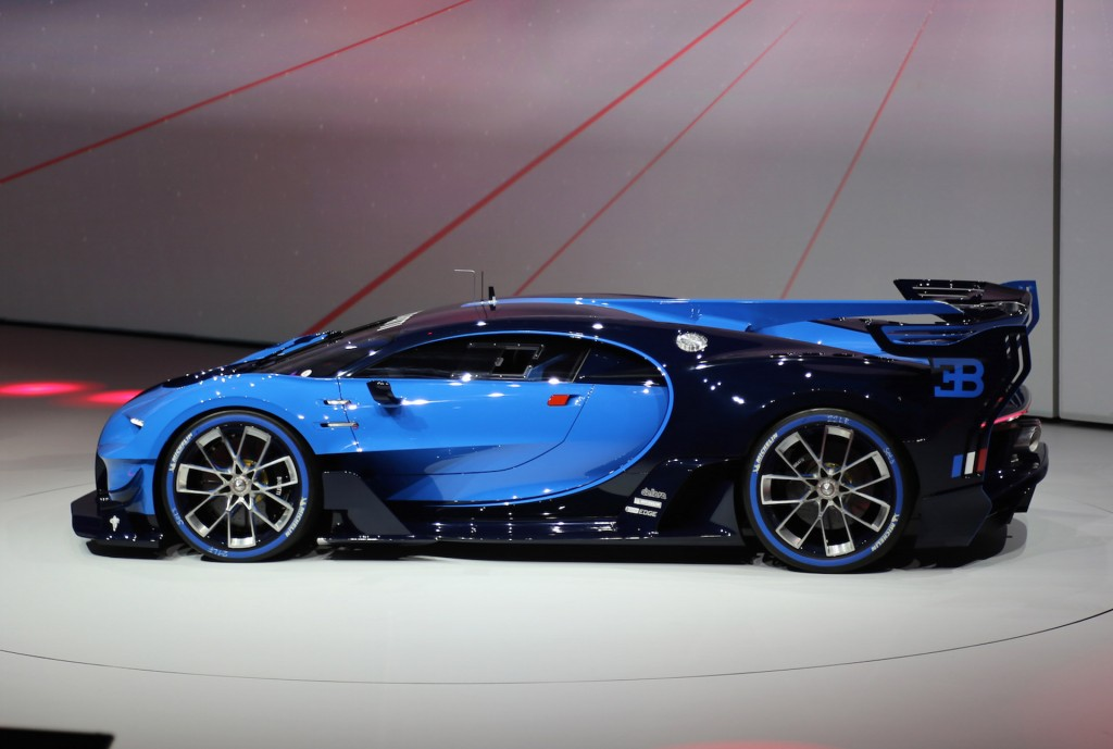 bugatti previews veyron successor with vision gt concept  live photos  u0026 video