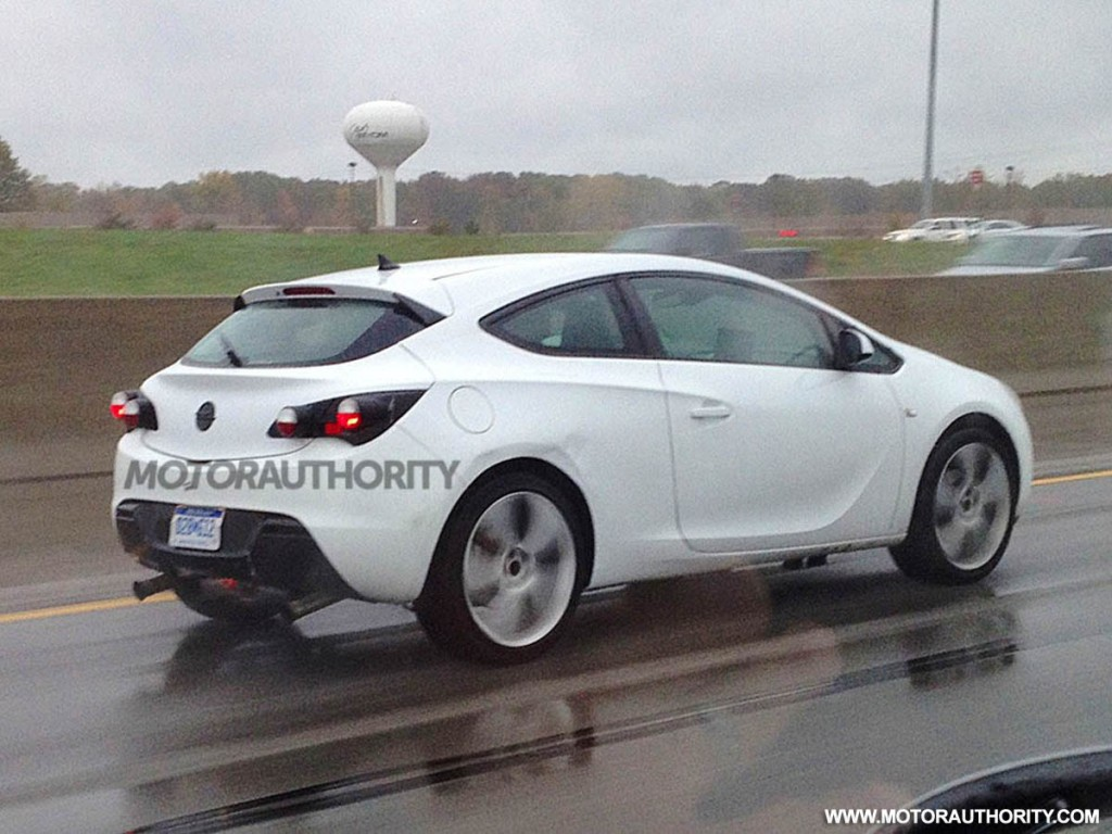 Buick Opel Astra Gtc Caught Testing In Michigan