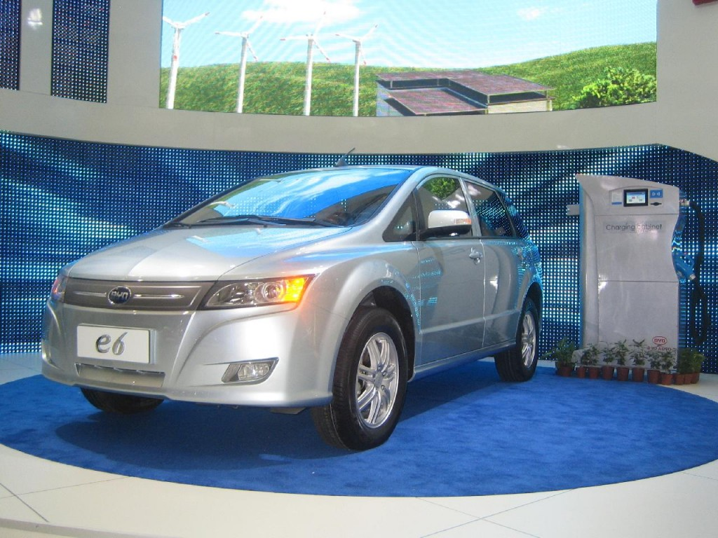 BYD e6 electric crossover, Electric Avenue, 2010 Detroit Auto Show