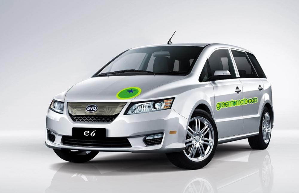 Byd E6 Electric Crossover Will Be London Taxi Still Mia
