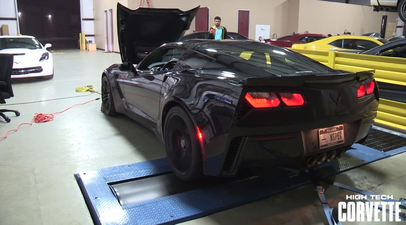 Another C7 Corvette Z06 Hits The Dyno Posts Strong