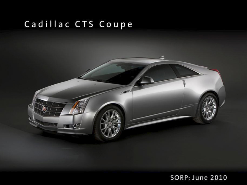 2010 Cadillac CTS Coupe photo - 1