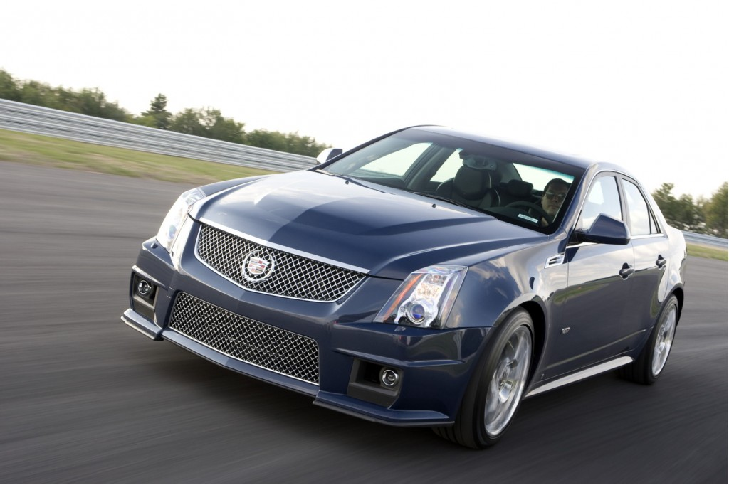 2010 Cadillac Cts-v Pictures  Photos Gallery