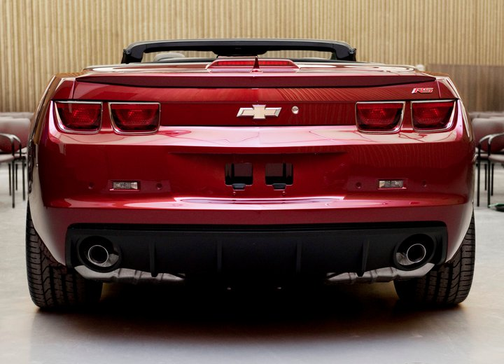 Camaro Convertible Teased On Facebook 100310323 L