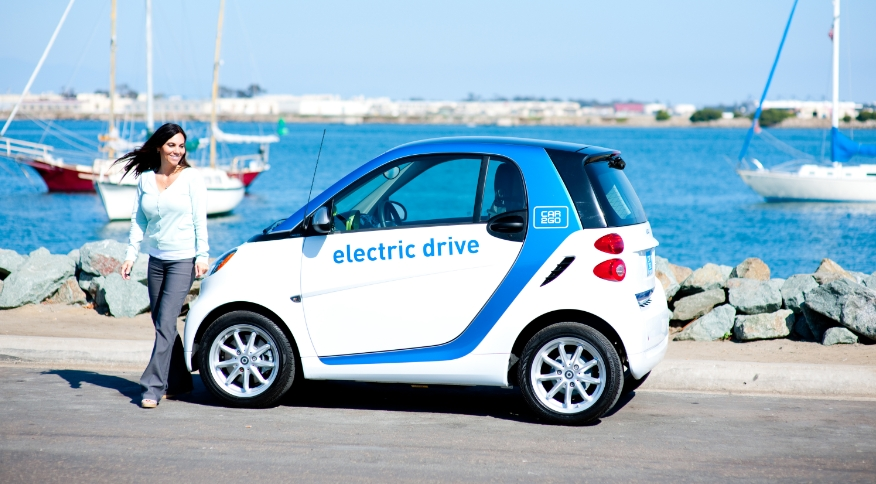 san diego car2go 39 s choice for first all electric car share service. Black Bedroom Furniture Sets. Home Design Ideas