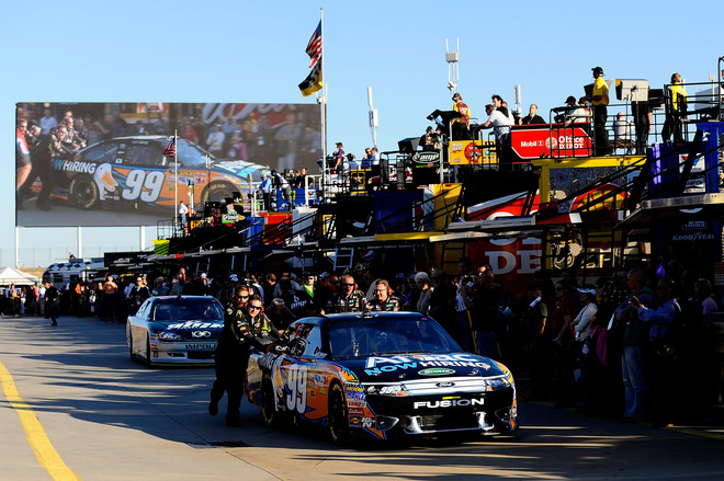 Bank on it at charlotte an analysis of the chase for the for Nascar ride along charlotte motor speedway