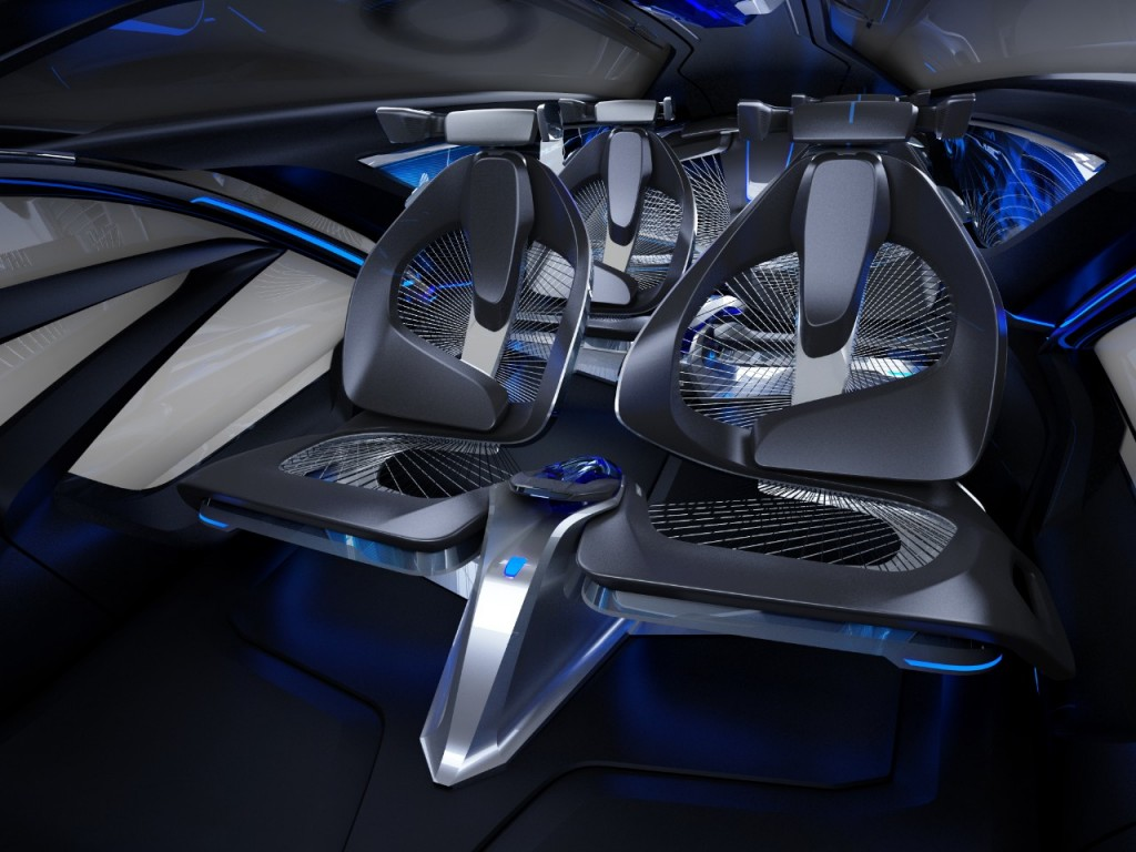 chevy fnr concept brings autonomous drive electric power sci fi styling to shanghai. Black Bedroom Furniture Sets. Home Design Ideas