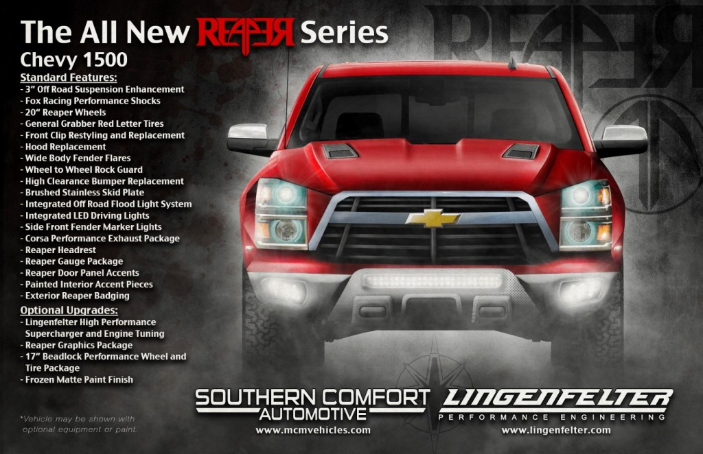 Chevy Reaper Concept Chevrolet reaper from