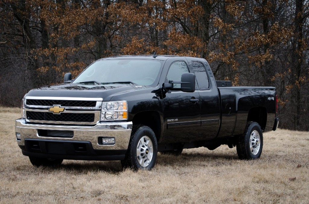 2013 Chevrolet Silverado 2500 HD bi-fuel (natural gas & gasoline
