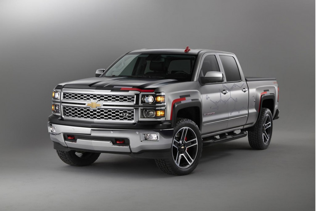 chevy reveals colorado sport and silverado toughnology truck concepts. Black Bedroom Furniture Sets. Home Design Ideas