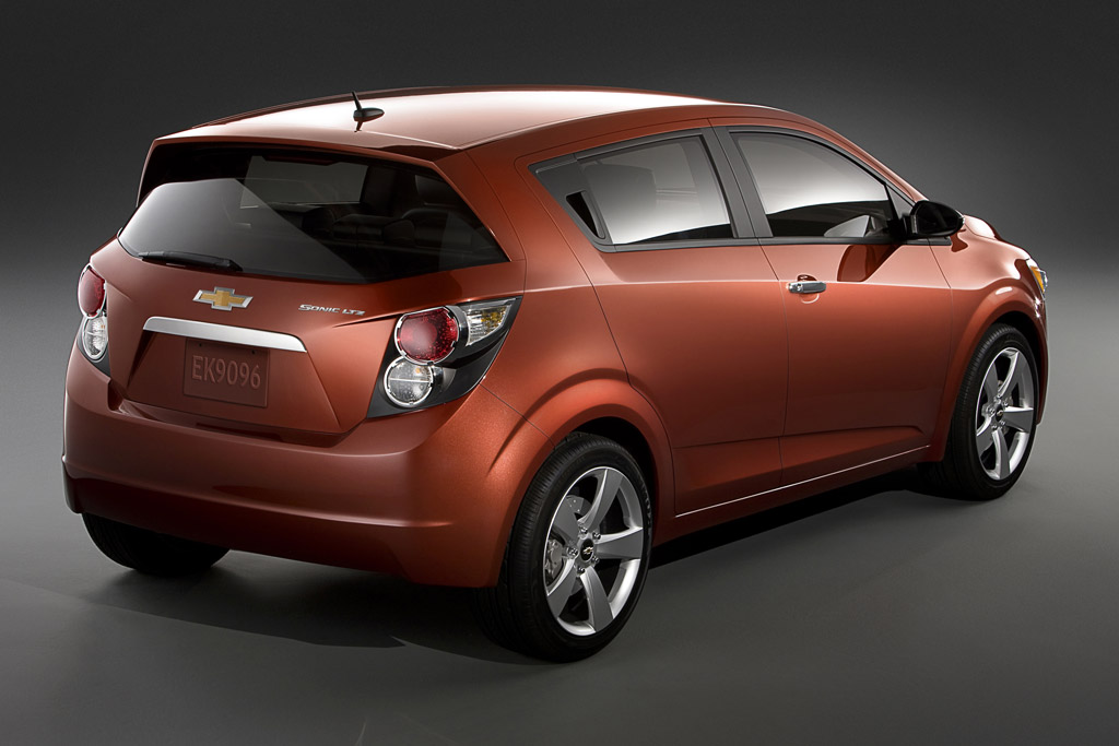 Chevrolet Sonic Ltz. Also, in the Sonic rendering