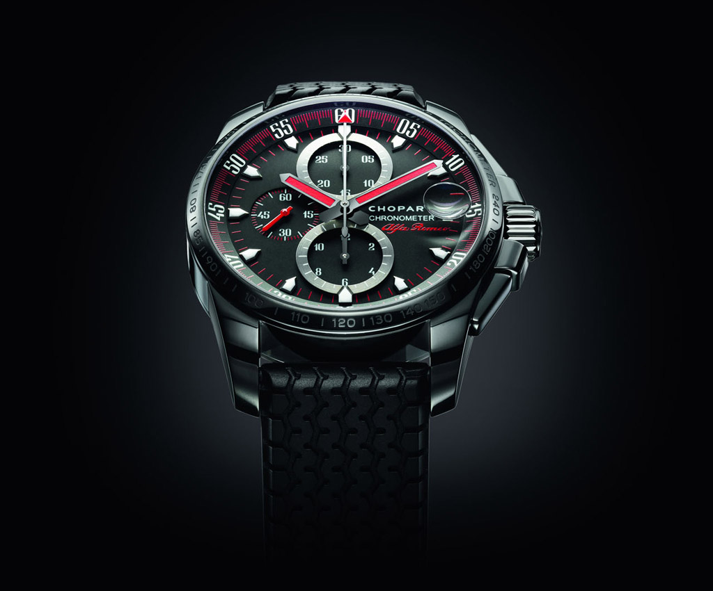 chopard celebrates alfa romeo centenary with exclusive new watch range. Black Bedroom Furniture Sets. Home Design Ideas