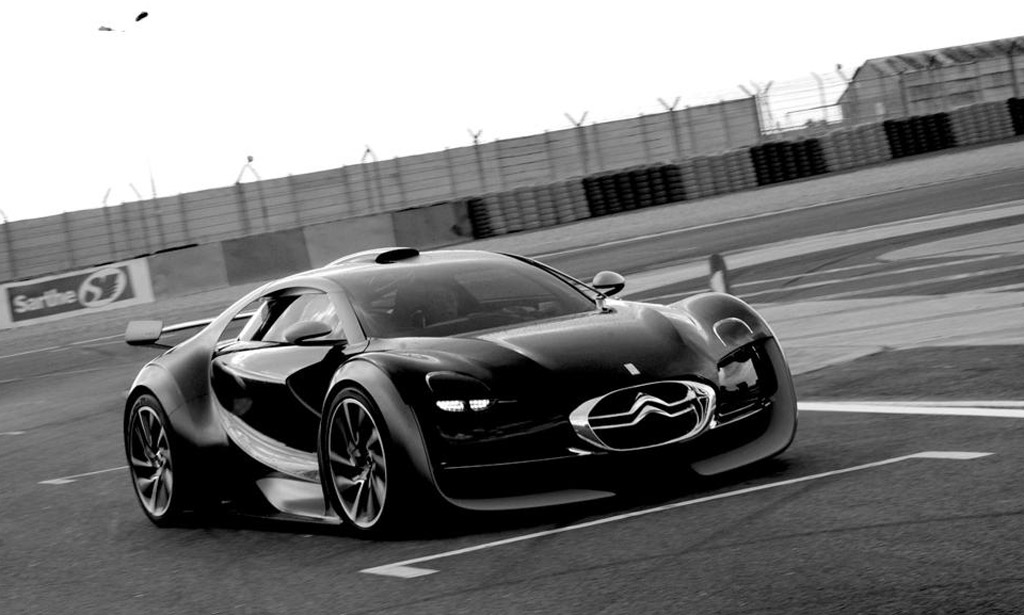 citroen survolt electric sports car concept takes to le mans. Black Bedroom Furniture Sets. Home Design Ideas