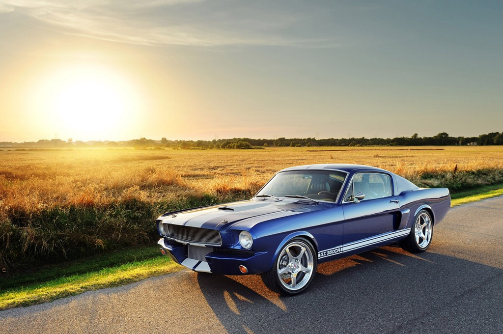 Classic Recreations' 1966 Mustang Fastback Shelby GT350CR ...