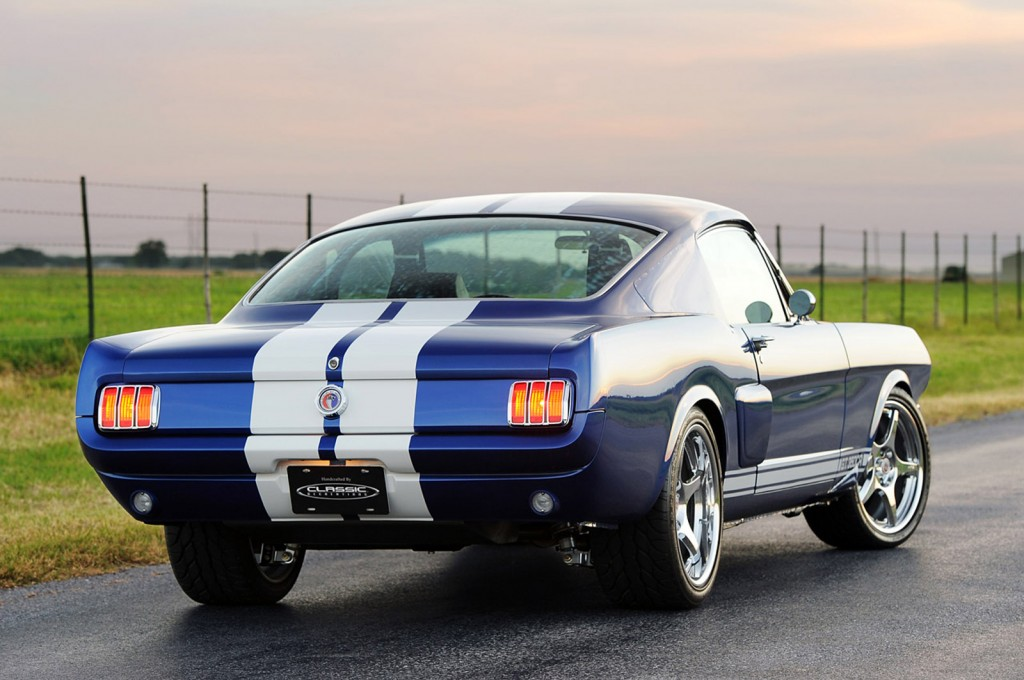 Classic Recreations' 1966 Mustang Fastback Shelby GT350CR Is A Beauty