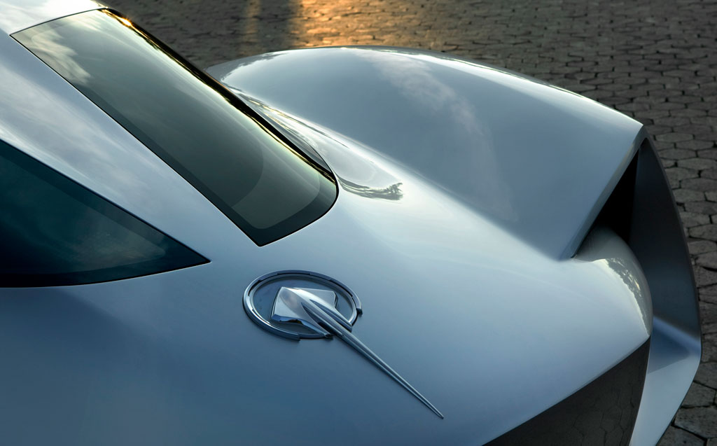 Corvette Stingray Concept split rear window