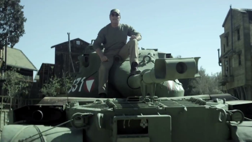 Image: Crush things in a tank with Arnold Schwarzenegger, size: 1024 x 577, type: gif, posted on ...
