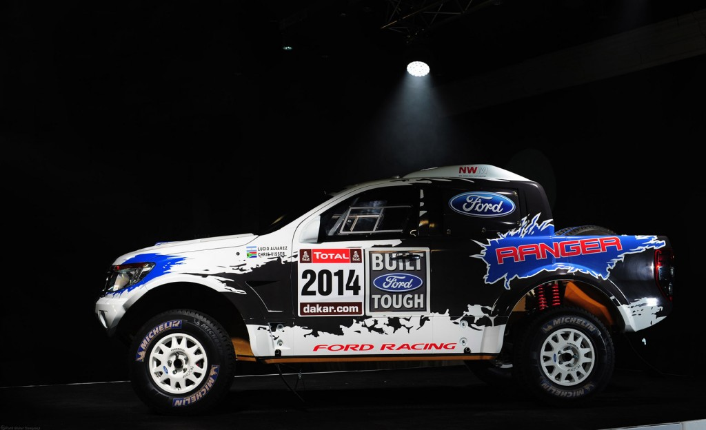 Ford To Enter 2014 Dakar Rally With Mustang-Powered Ranger Pickup