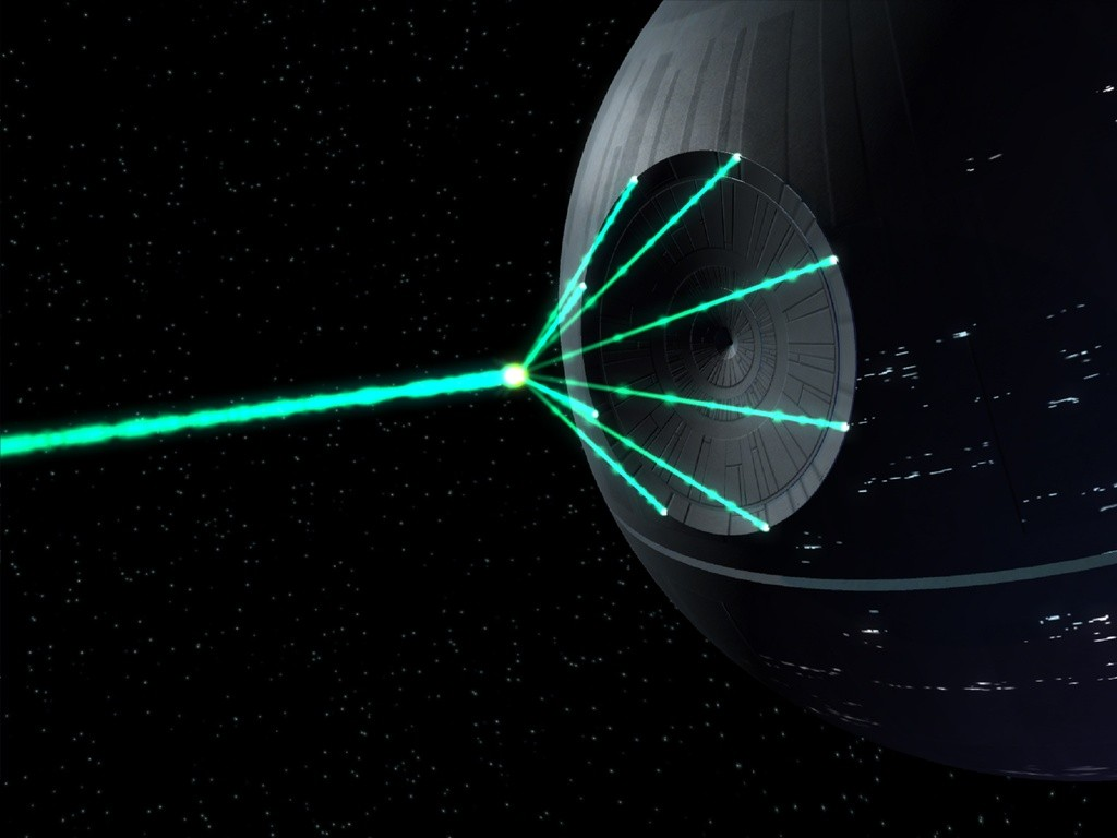 Image Death Star Laser Beam From Star Wars Size 1024 X 768 Type Gif Posted On September