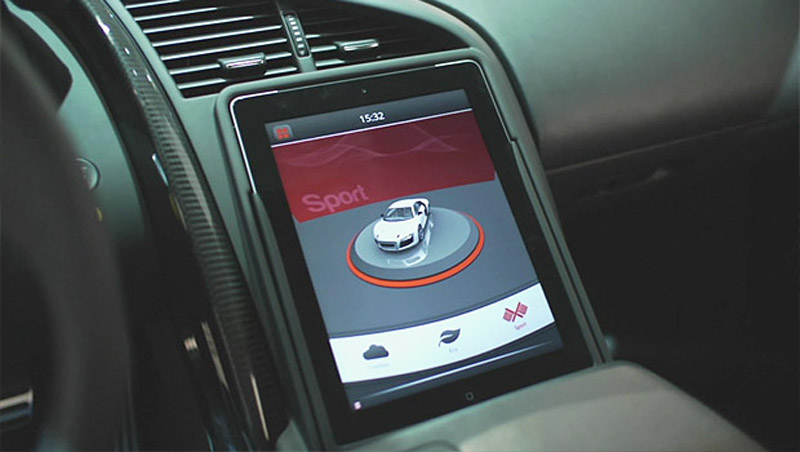 Audi R8 E Tron To Get Model S Style Digital Center Stack