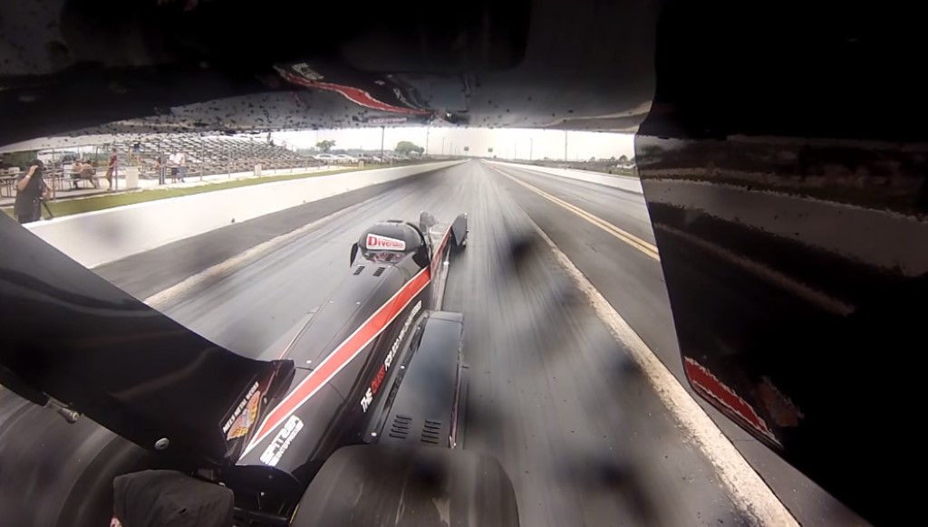 2 000 Horsepower Electric Dragster Sets New Drag Record Video