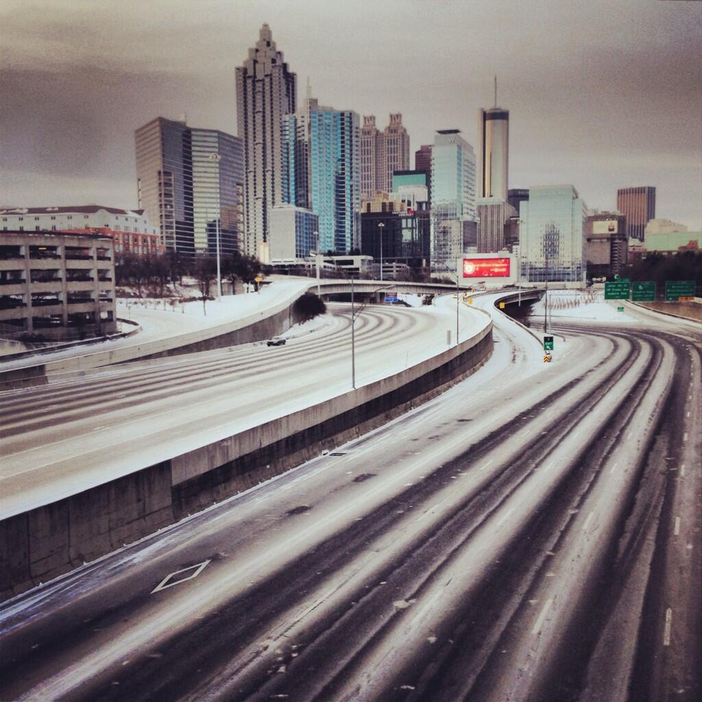 Downtown Atlanta in the