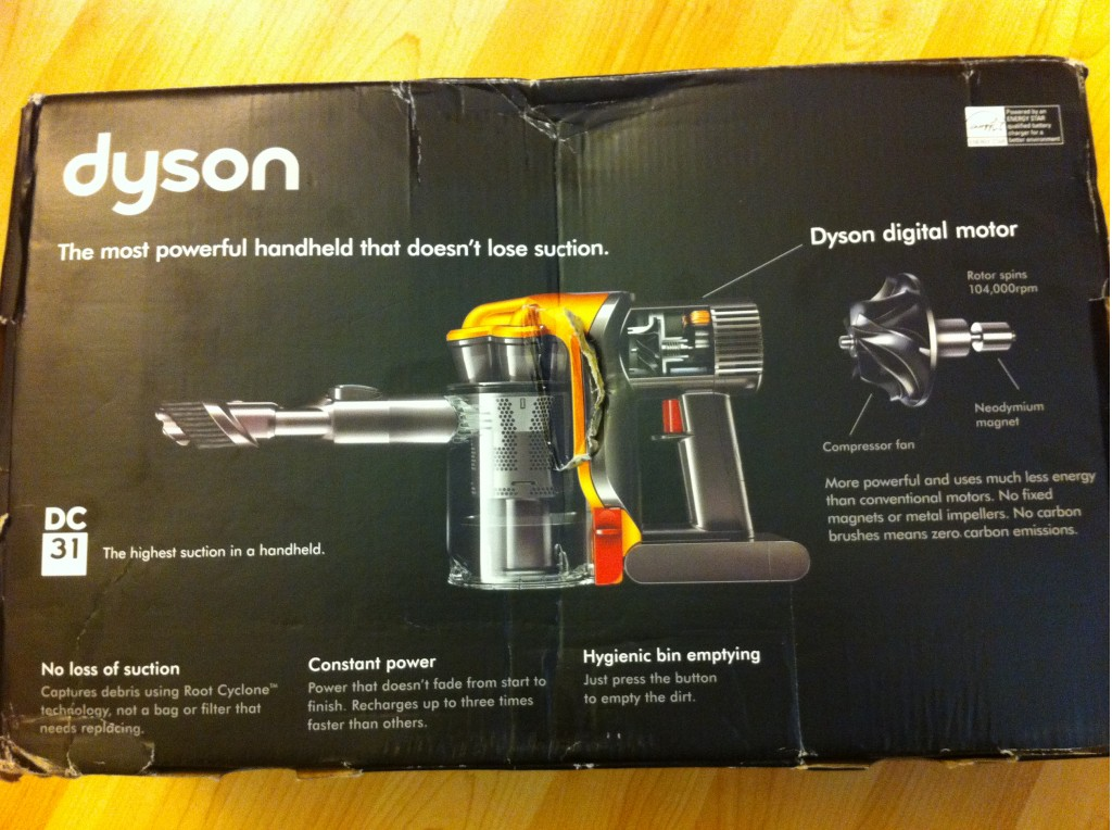 Contest Dirtiest Car Interior Wins Dyson Hand Vacuum To
