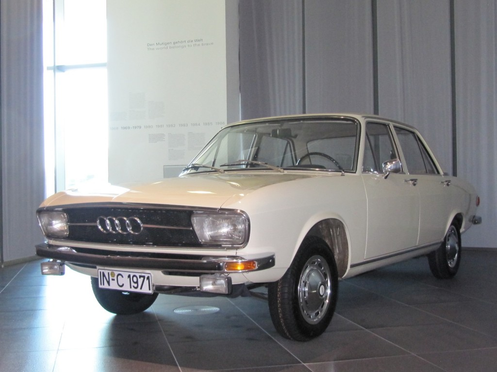 image early audi 100 in audi museum ingolstadt germany size 1024 x 768 type gif posted. Black Bedroom Furniture Sets. Home Design Ideas