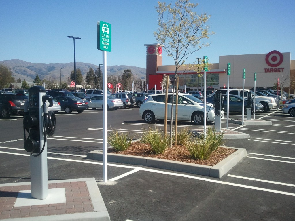 Free Electric Car Charging Stations California