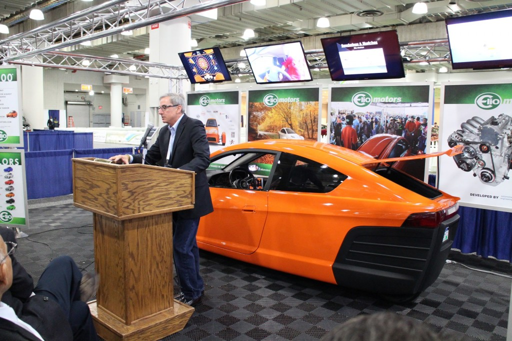 Elio Motors First Ever Auto Show Press Event In Nyc Touts