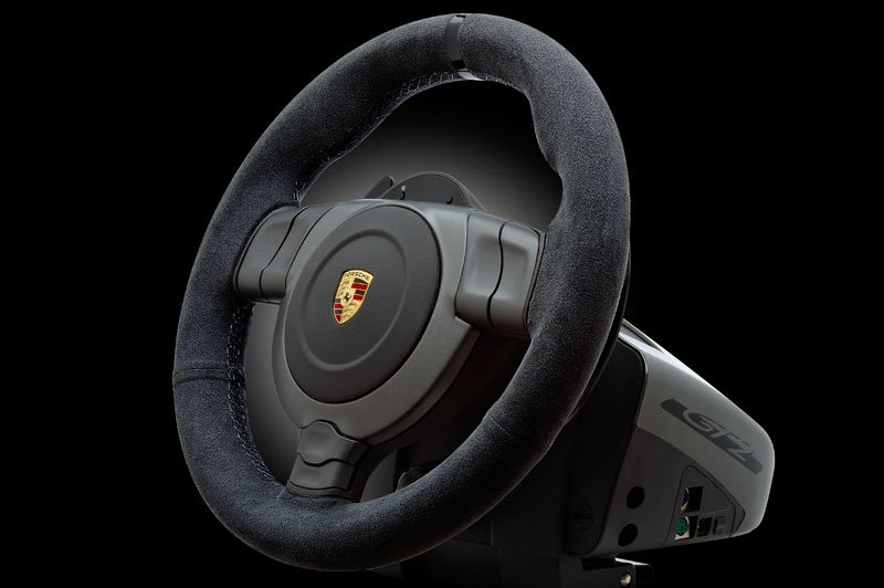 fanatec porsche 911 gt2 gaming wheel ready for xbox 360 ps3 and pc. Black Bedroom Furniture Sets. Home Design Ideas