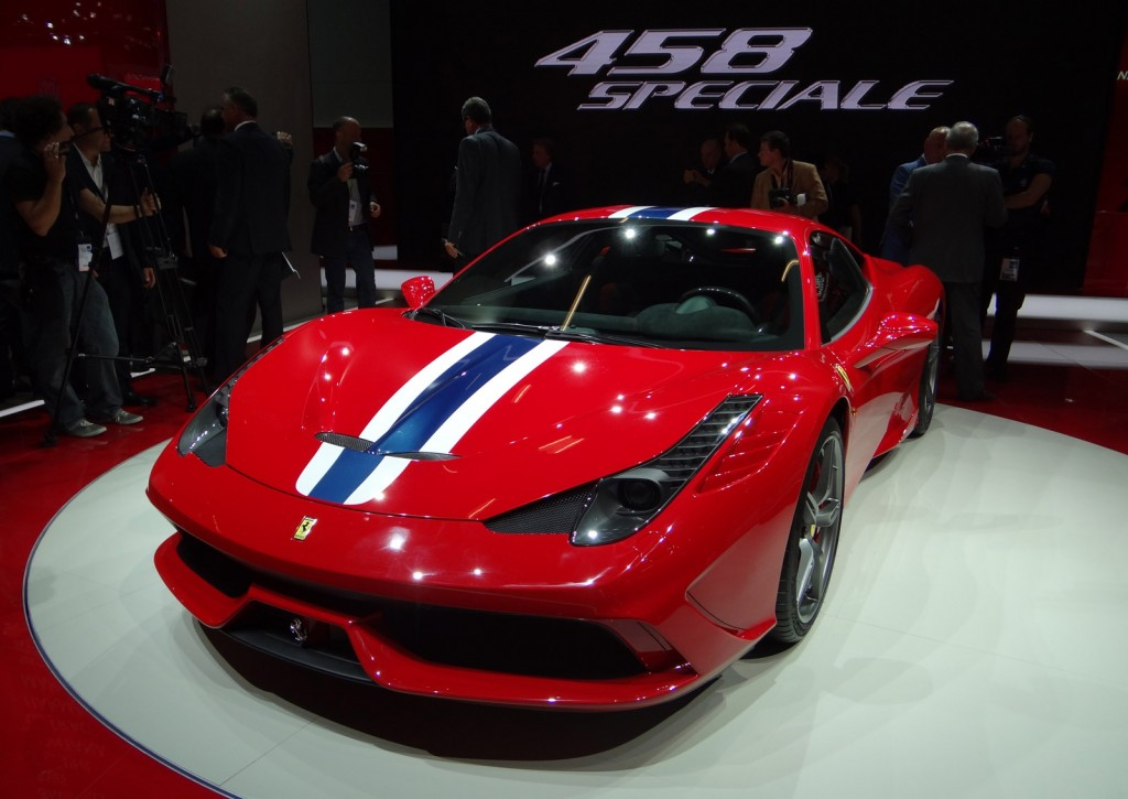 ferrari 458 speciale 2013 frankfurt auto show. Black Bedroom Furniture Sets. Home Design Ideas