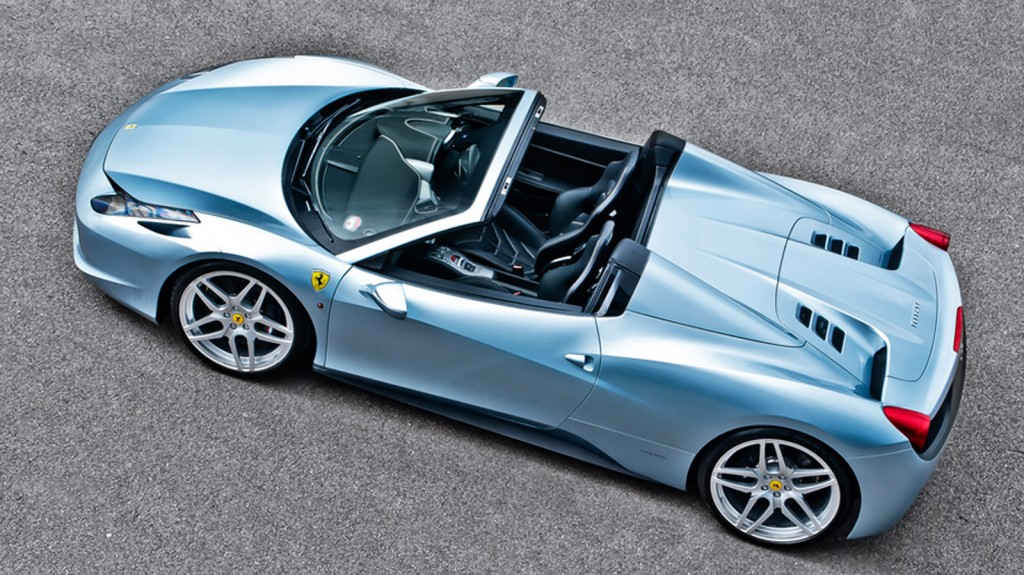 Kahn Design Builds A Bespoke Ferrari 458 Spider