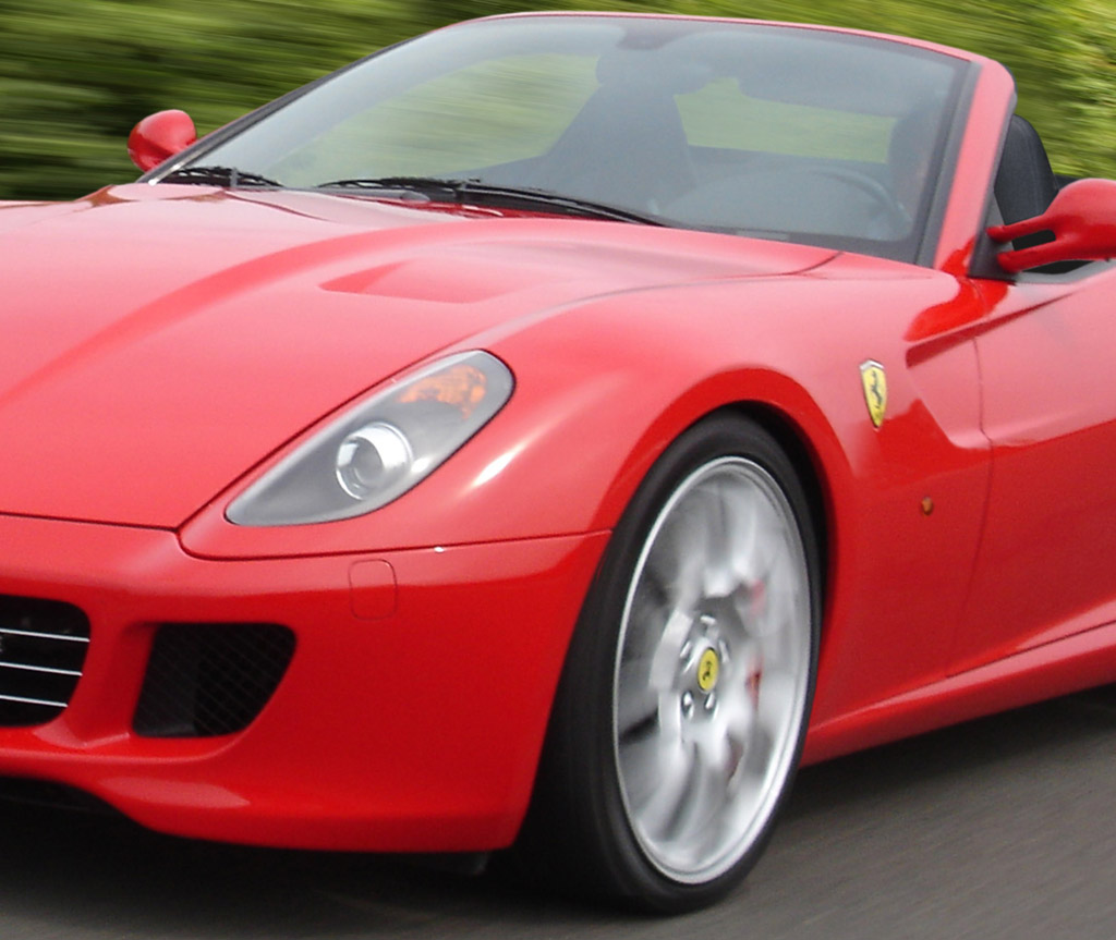 Ferrari 599: Rendered: Ferrari 599 Spider