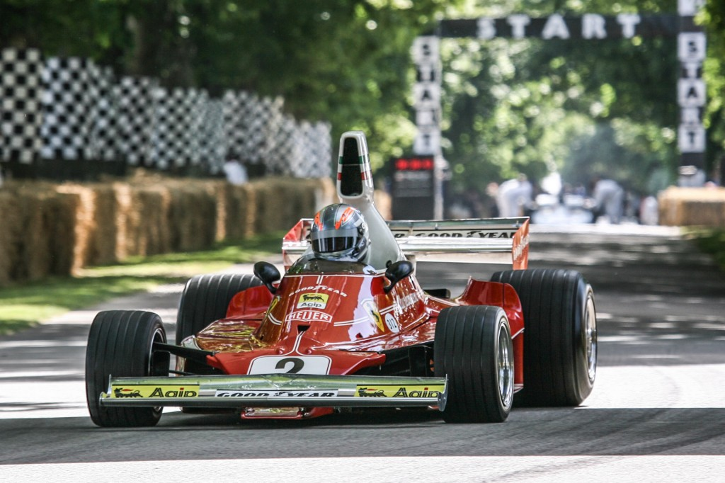 Simple Ferrari At The 2015 Goodwood Festival Of Speed Video