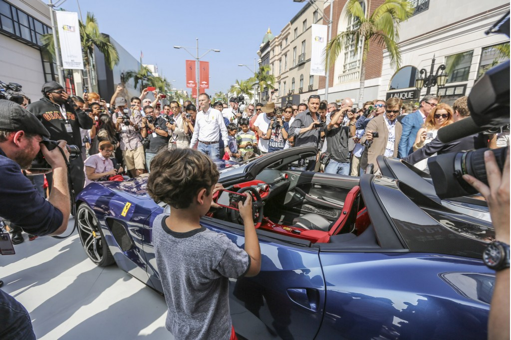 Ferrari Launches F60 America In Beverly Hills, Auctions ...