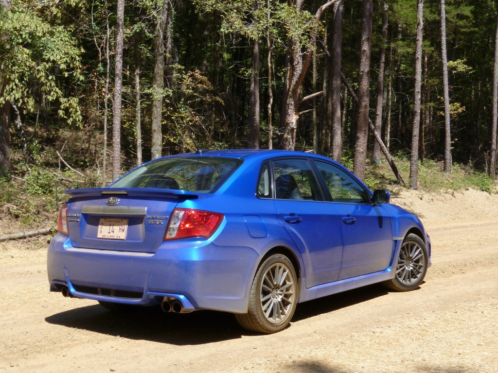 driven 2011 subaru impreza wrx sedan. Black Bedroom Furniture Sets. Home Design Ideas