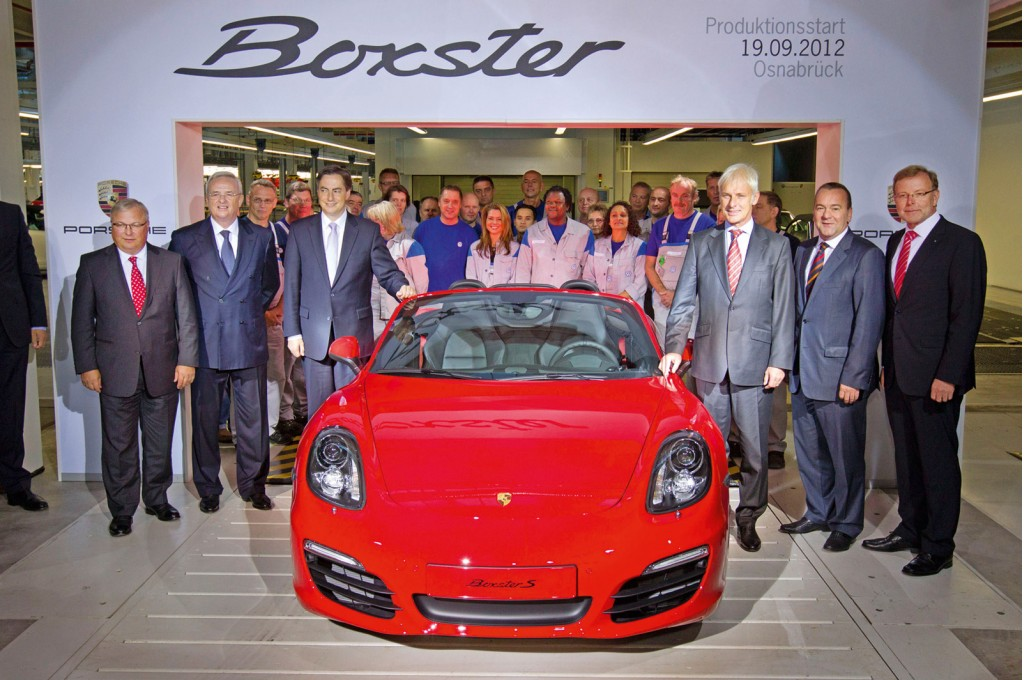 image first porsche boxster to be built at former karmann plant in osnabr ck germany size. Black Bedroom Furniture Sets. Home Design Ideas
