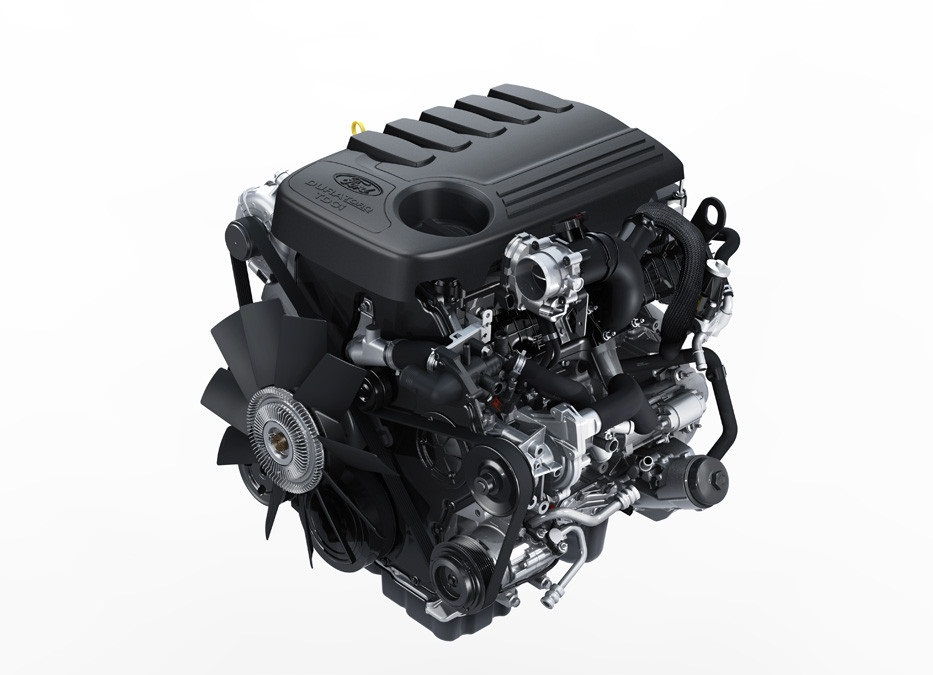 Ford 3.2-liter PowerStroke Diesel engine, as fitted to 2014 Ford