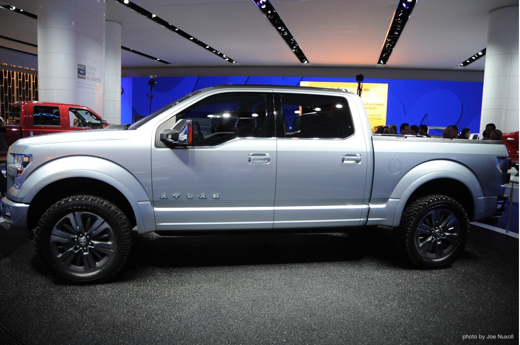 Ford s atlas concept previews the future of the pickup truck video